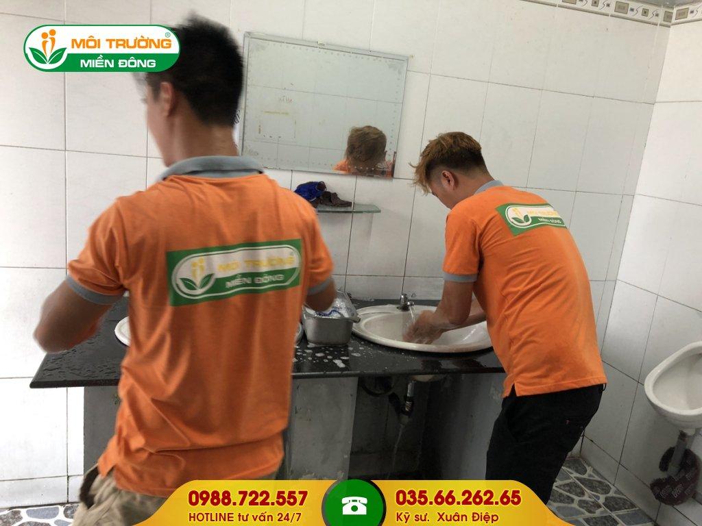 Dịch vụ hút hầm cầu tại Đồng Nai
