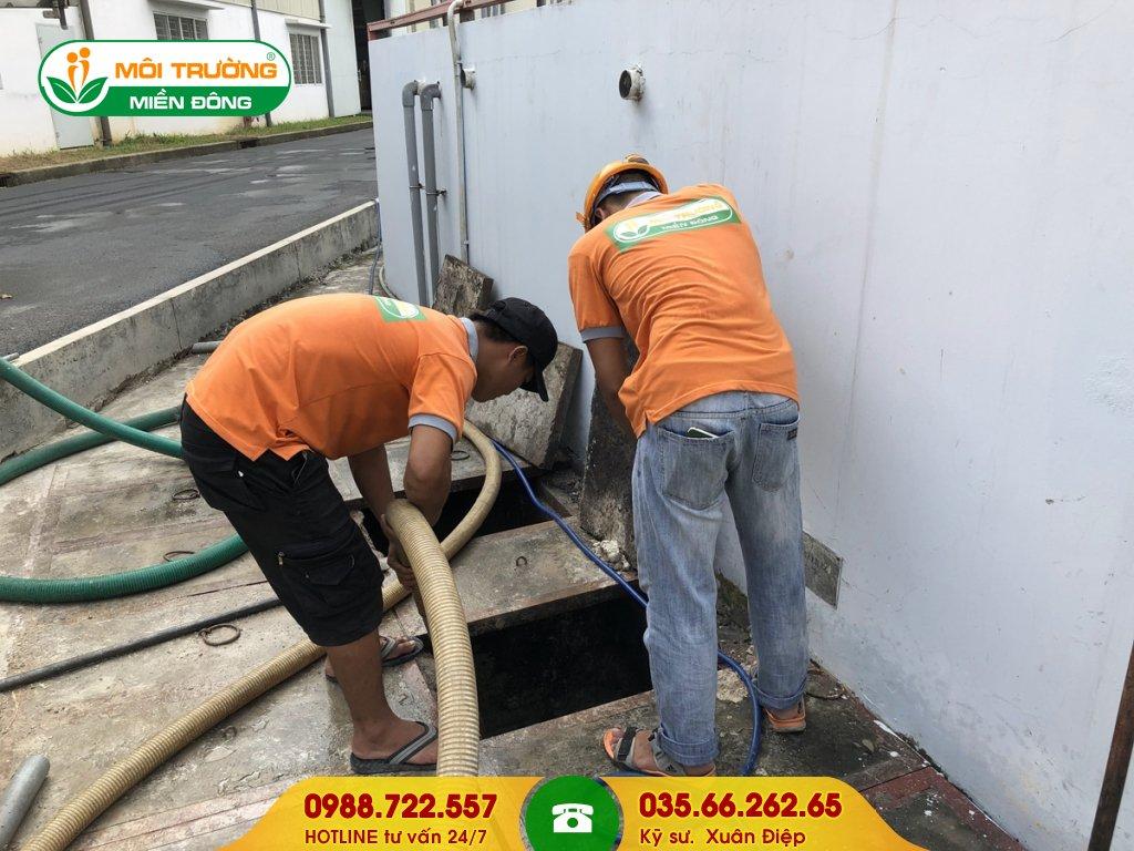 Giá dịch vụ hút hầm cầu tại Đồng Nai