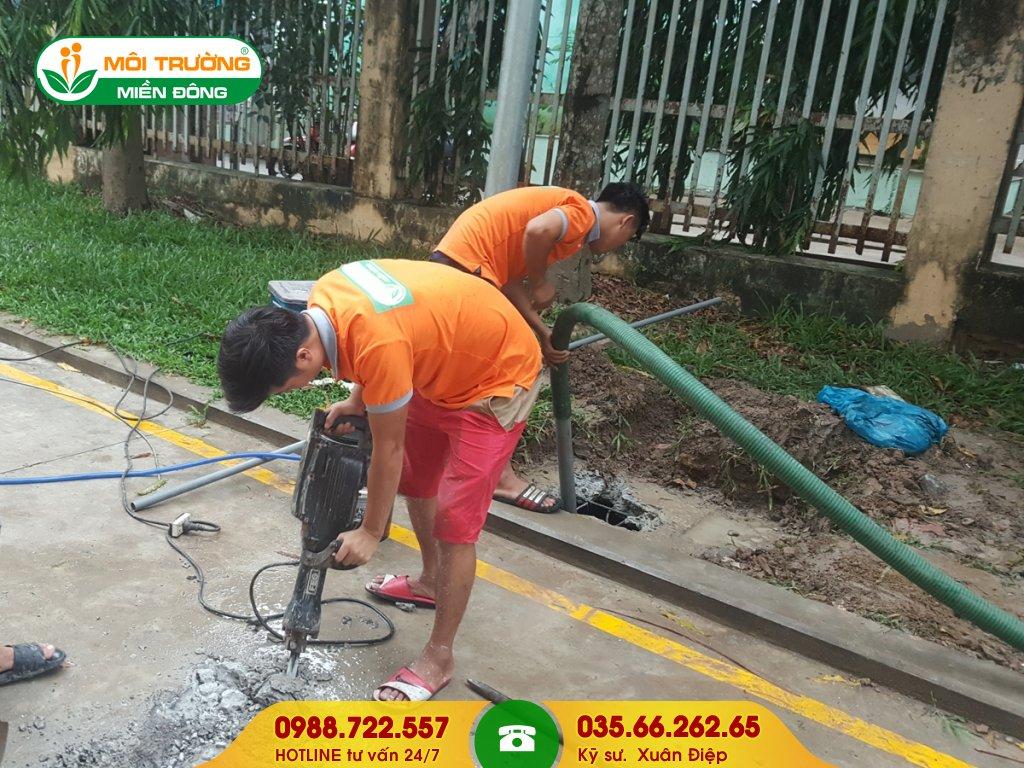 Dịch vụ hút hầm cầu tại TPHCM