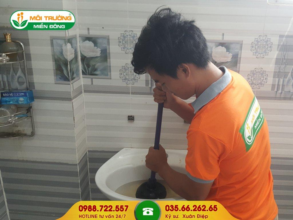 Dịch vụ thông tắc lavabo tại Đồng Nai