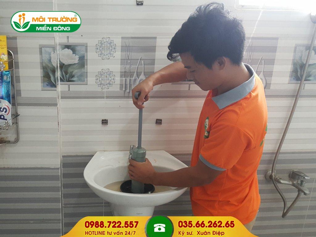 Dự toán chi phí thông tắc lavabo tại Đồng Nai