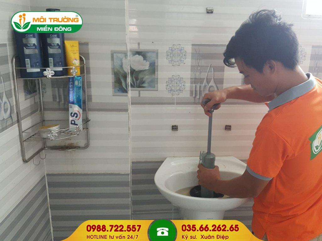 Đơn giá thông tắc lavabo tại Đồng Nai