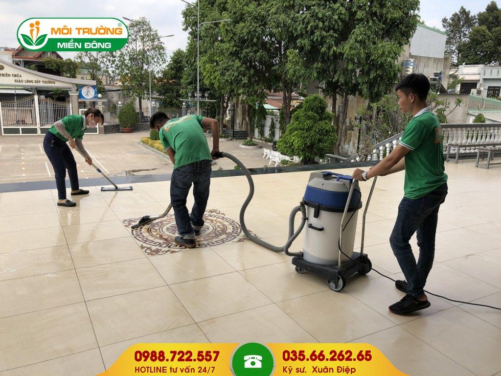 Bảng báo giá vệ sinh công nghiệp tại Đồng Nai