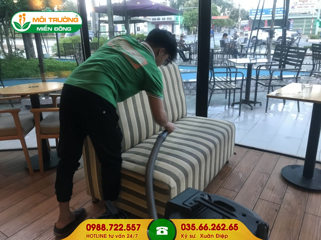 Chi phí dịch vụ giặt ghế sofa