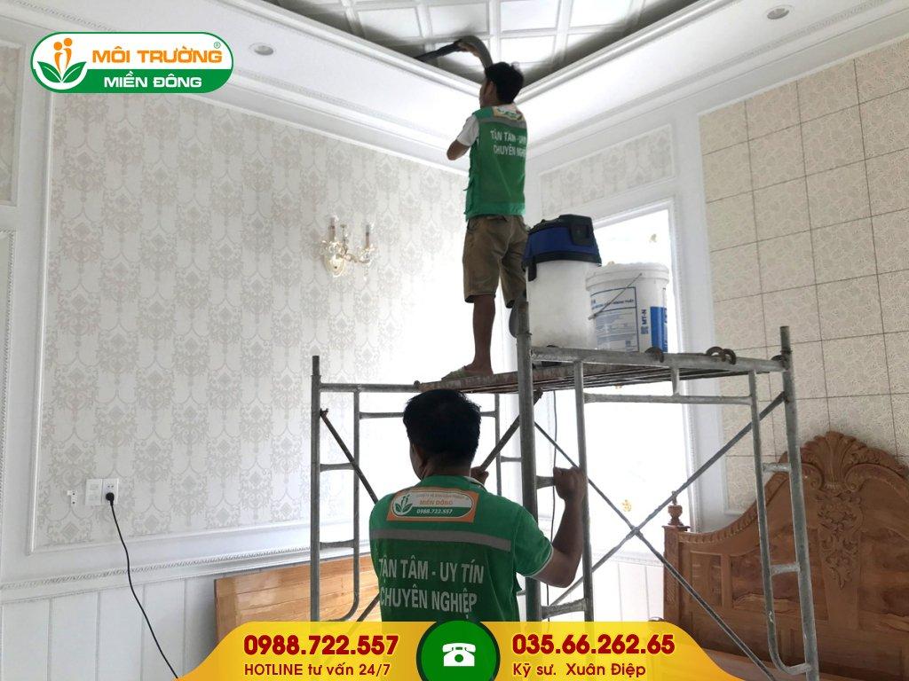 Đơn giá dịch vụ tẩy rửa vết bám trên tường