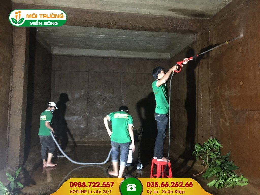 Báo giá dịch vụ vệ sinh bể PCCC