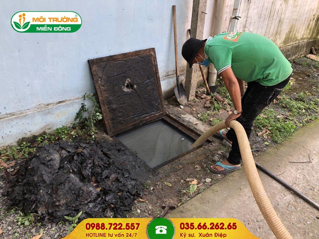 Đơn giá dịch vụ vệ sinh hố ga