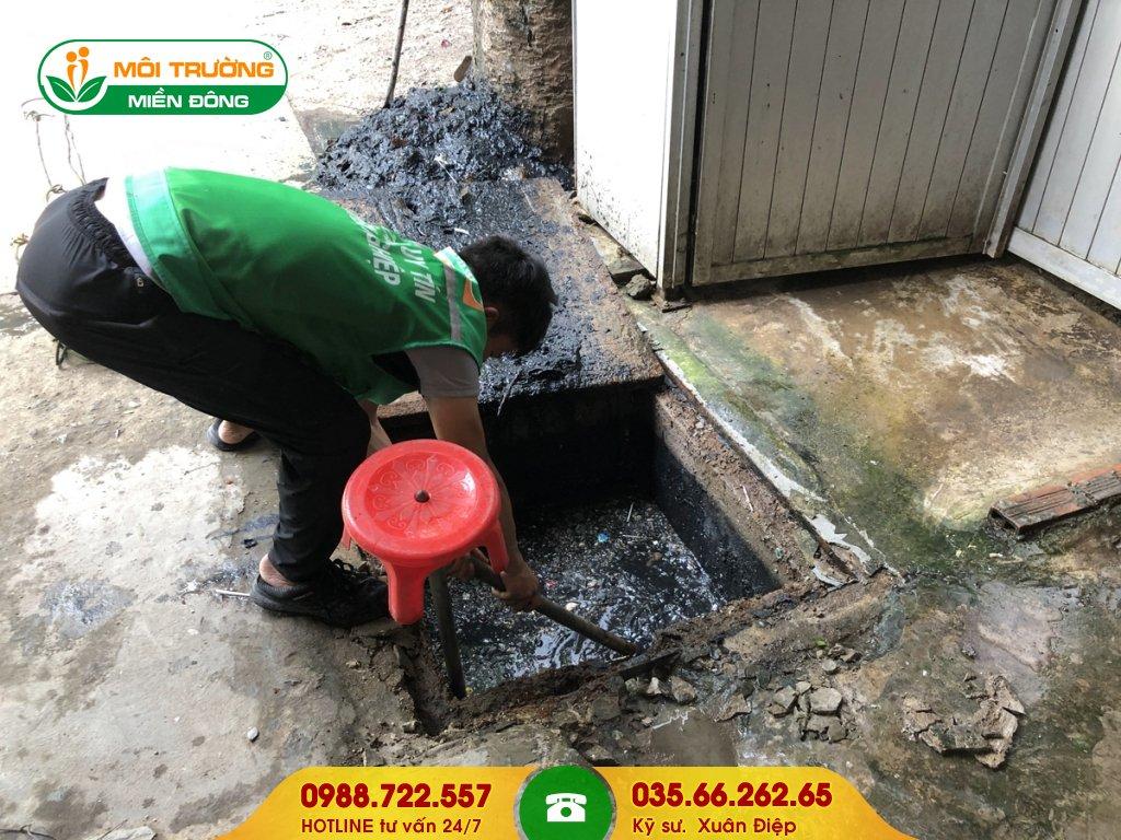 Báo giá dịch vụ vệ sinh hố ga