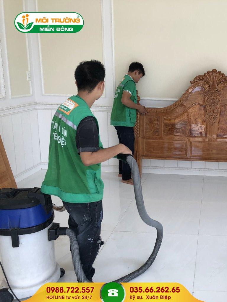 Báo giá dịch vụ vệ sinh nội thất tại nhà