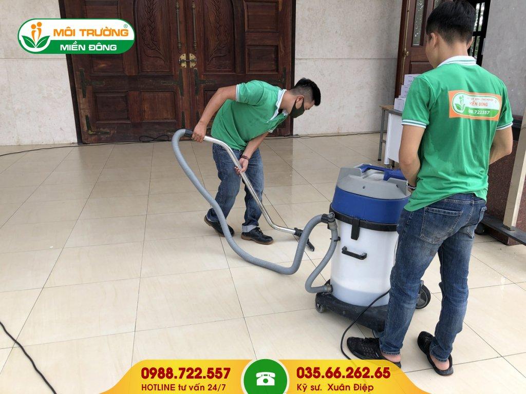 Dự toán vệ sinh tổng thể ngoại thất