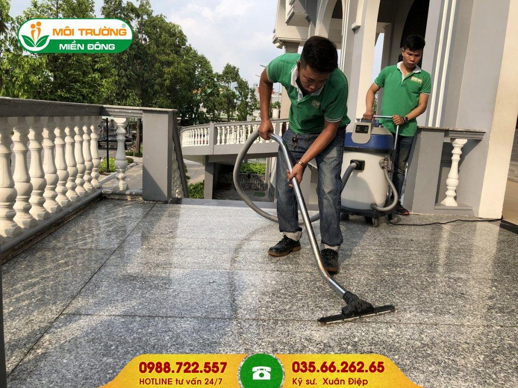 Dịch vụ vệ sinh tổng thể ngoại thất