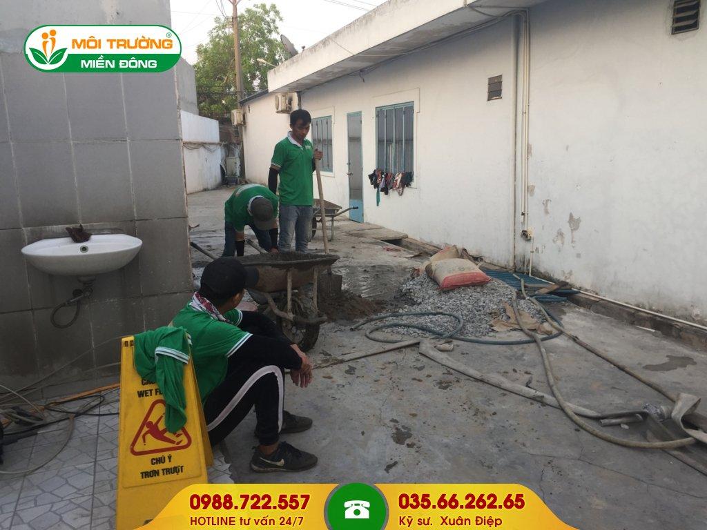 Đơn giá dịch vụ vệ sinh công trình sau xây dựng