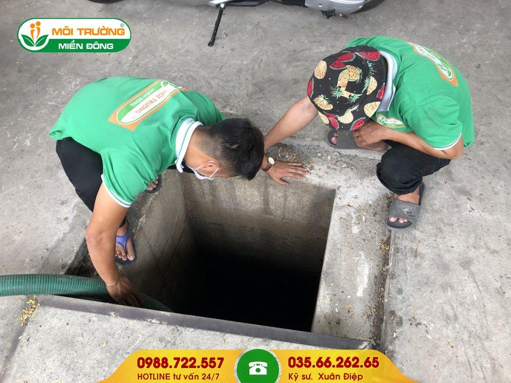 Dịch vụ hút hầm cầu