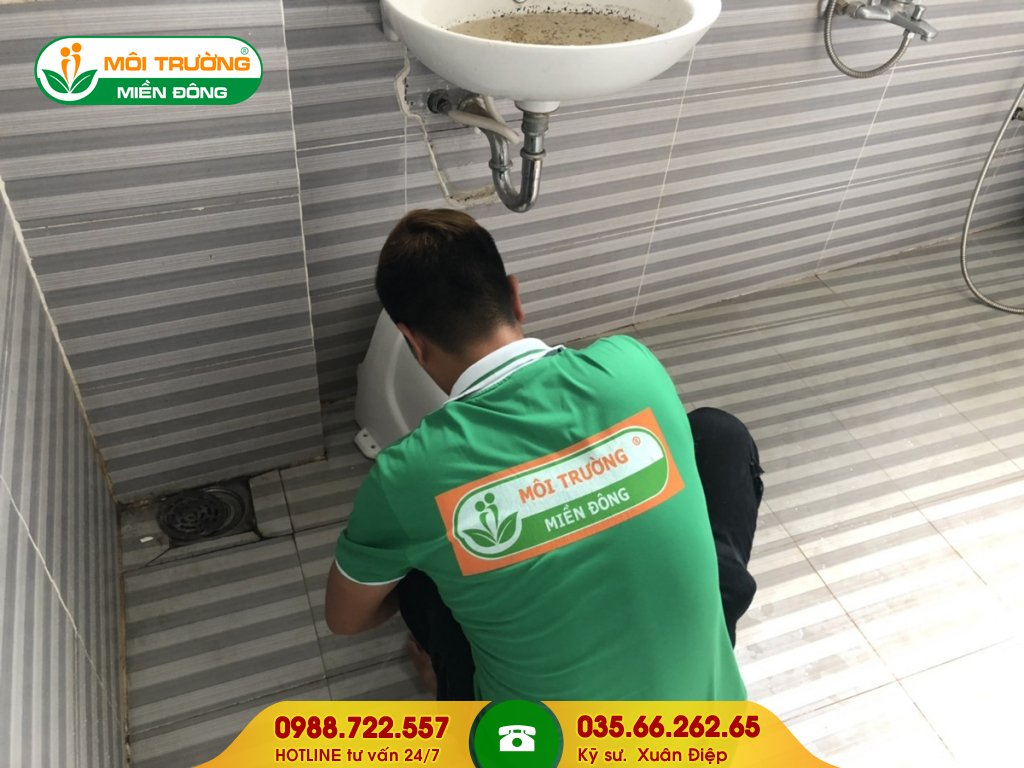 Dịch vụ thông tắc lavabo bằng phương pháp tháo lắp