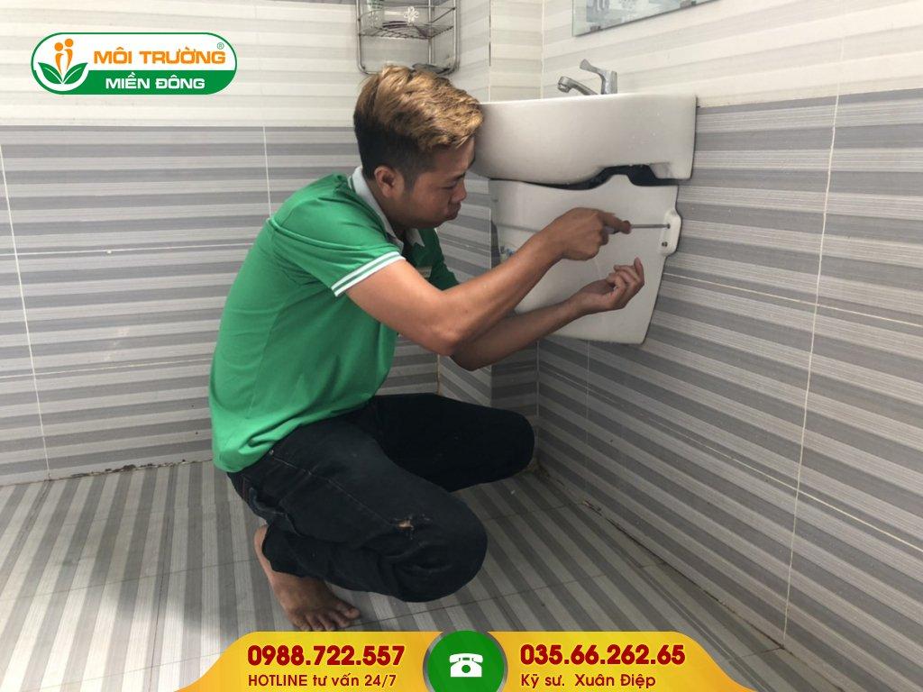 Đơn giá thông tắc lavabo bằng phương pháp tháo lắp