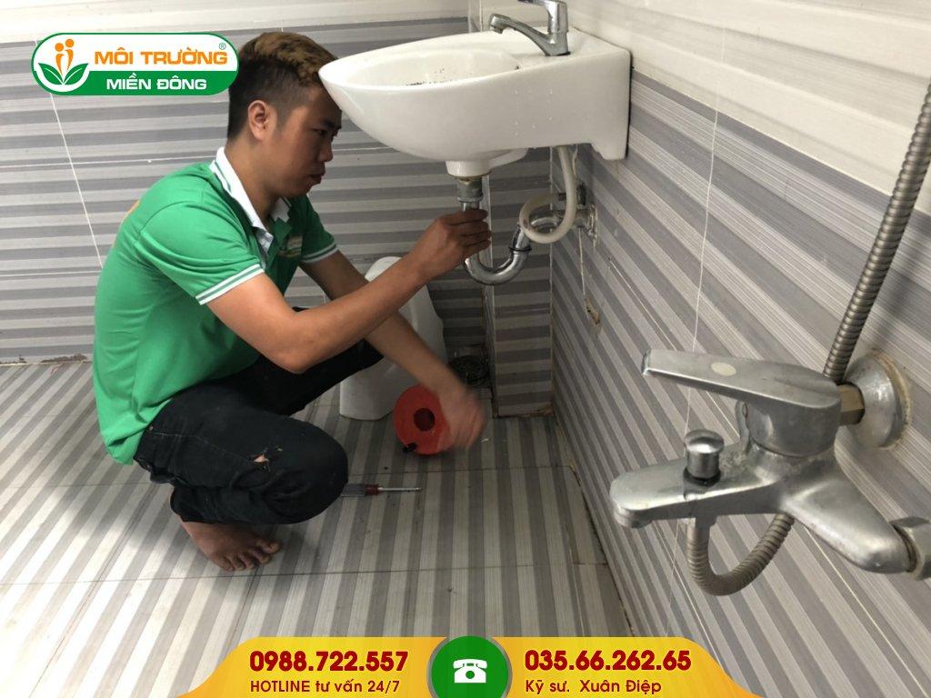 Báo giá thông tắc lavabo bằng phương pháp tháo lắp