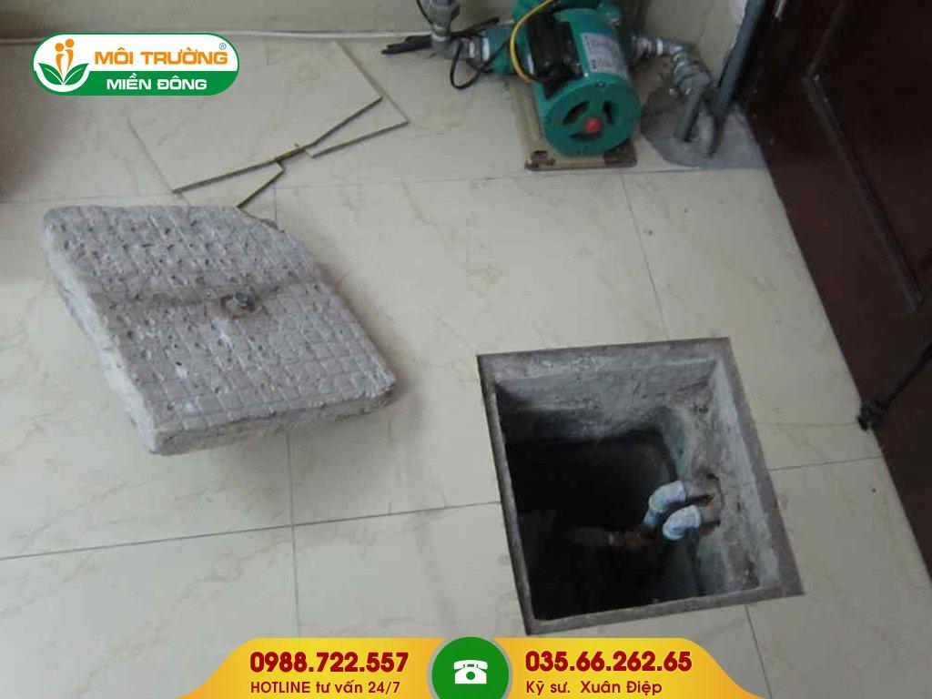 Chi phí dịch vụ vệ sinh bể nước ngầm