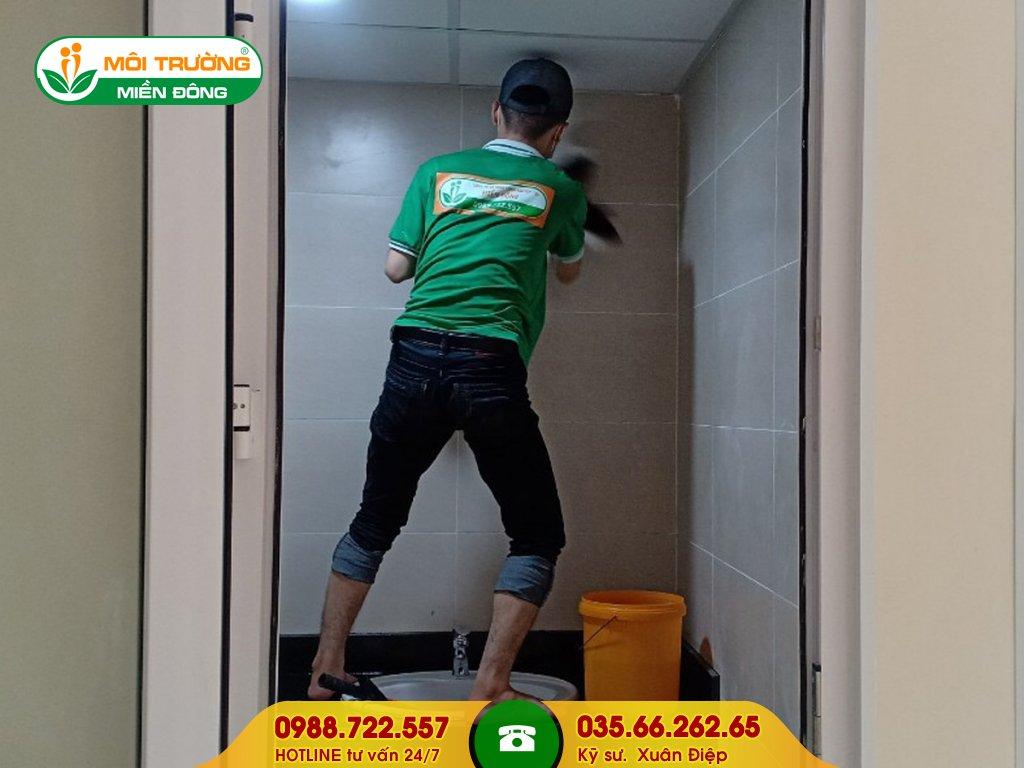 Báo giá dịch vụ vệ sinh tường bao