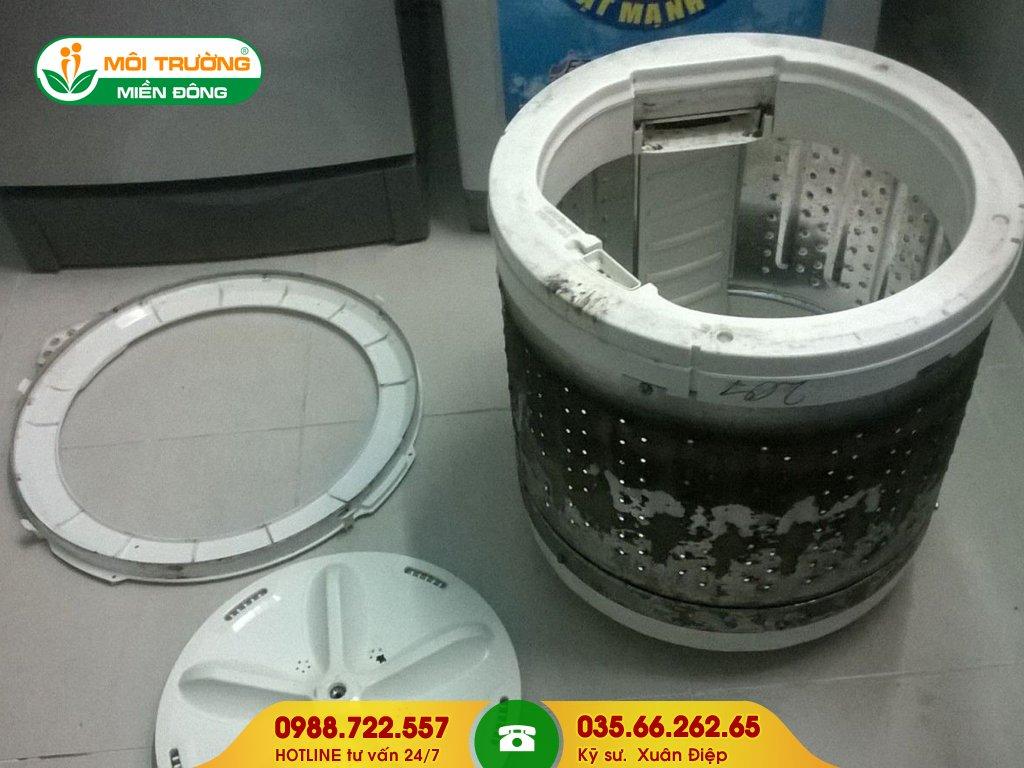 Đơn vị vệ sinh máy giặt