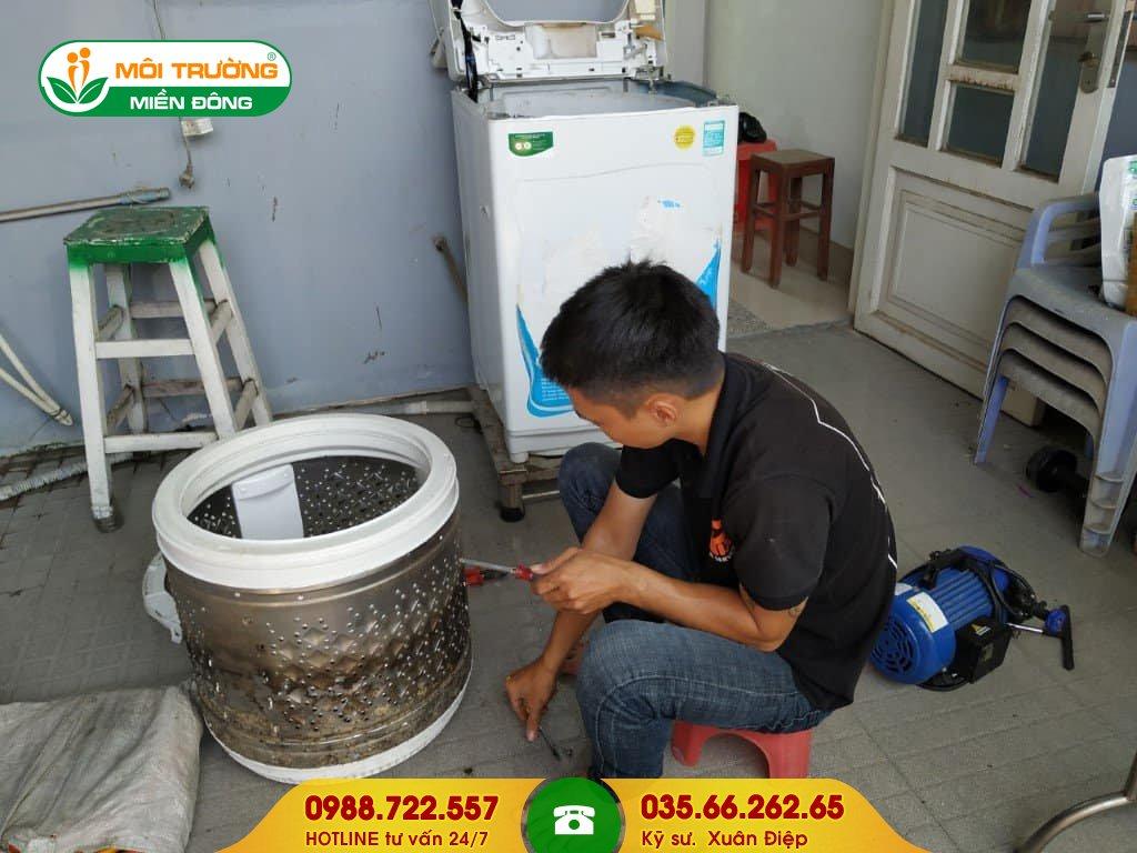 Bảng giá dịch vụ vệ sinh máy giặt