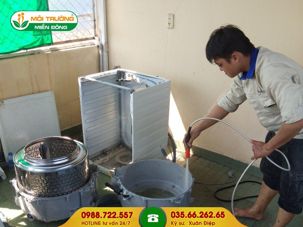 Đơn giá dịch vụ vệ sinh máy giặt