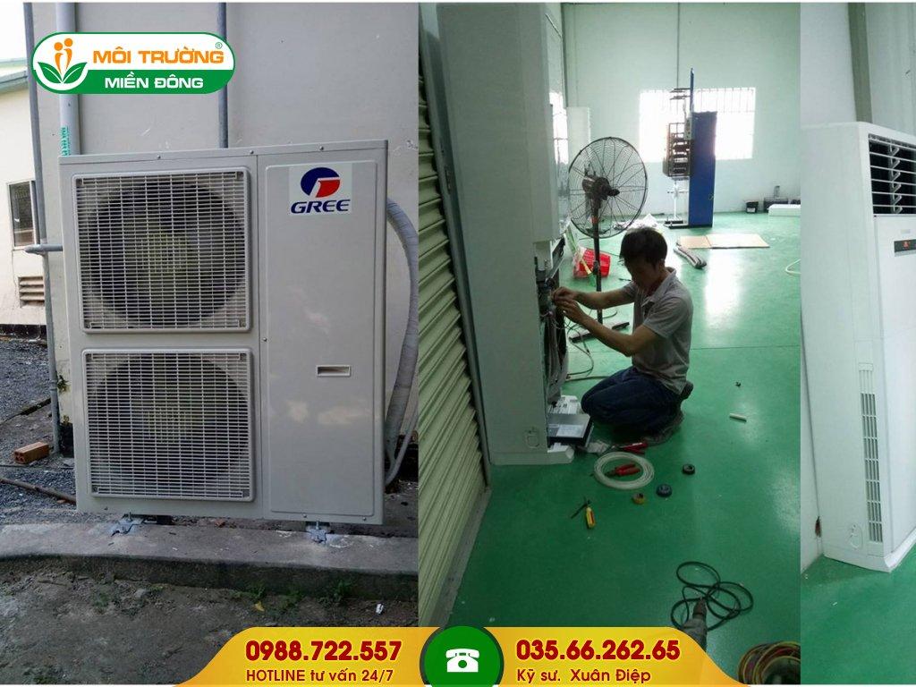 Công ty vệ sinh máy lạnh