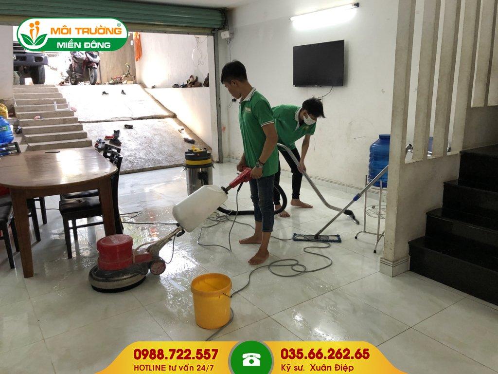 Báo giá dịch vụ vệ sinh công nghiệp tại đường Phú Lập