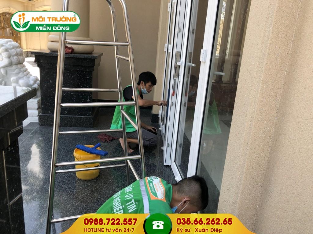 Dịch vụ rửa tường