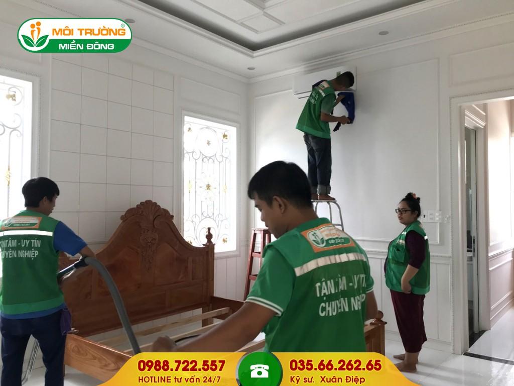 Dịch vụ vệ sinh nội thất