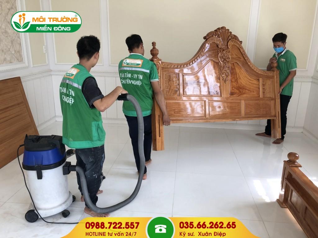 Dịch vụ vệ sinh giường