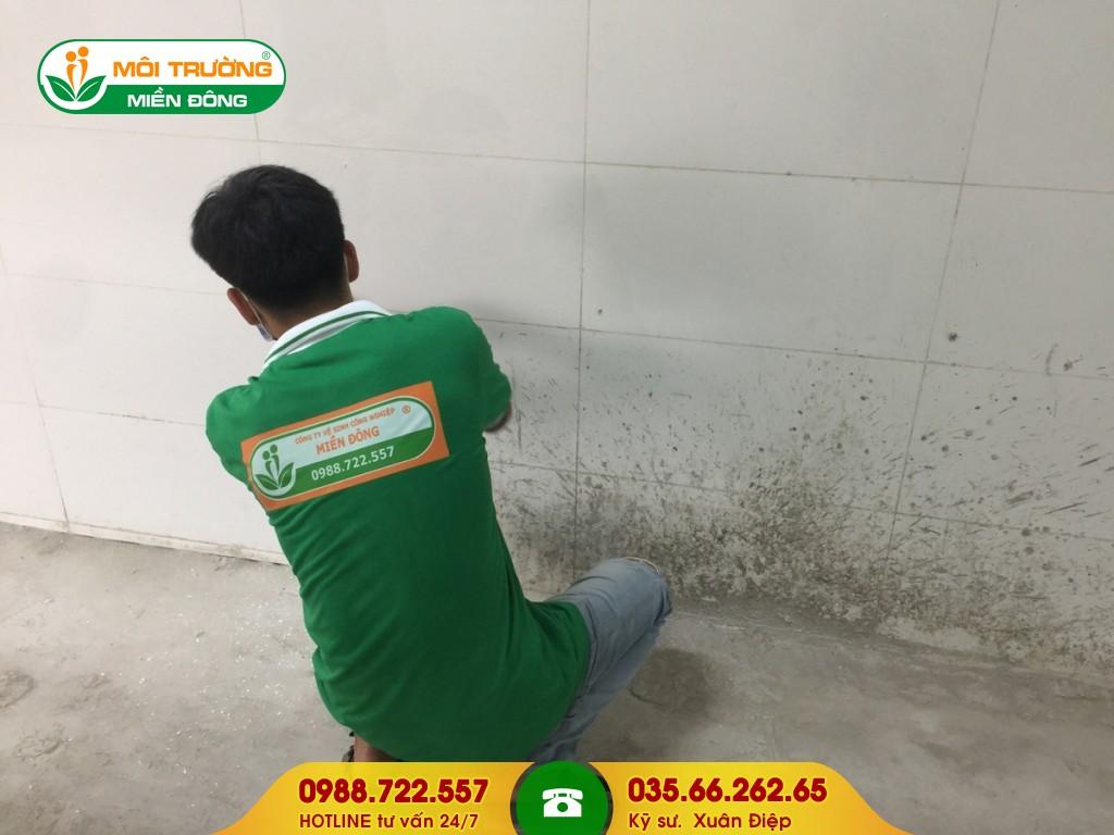 Dịch vụ chà rửa bám bẩn