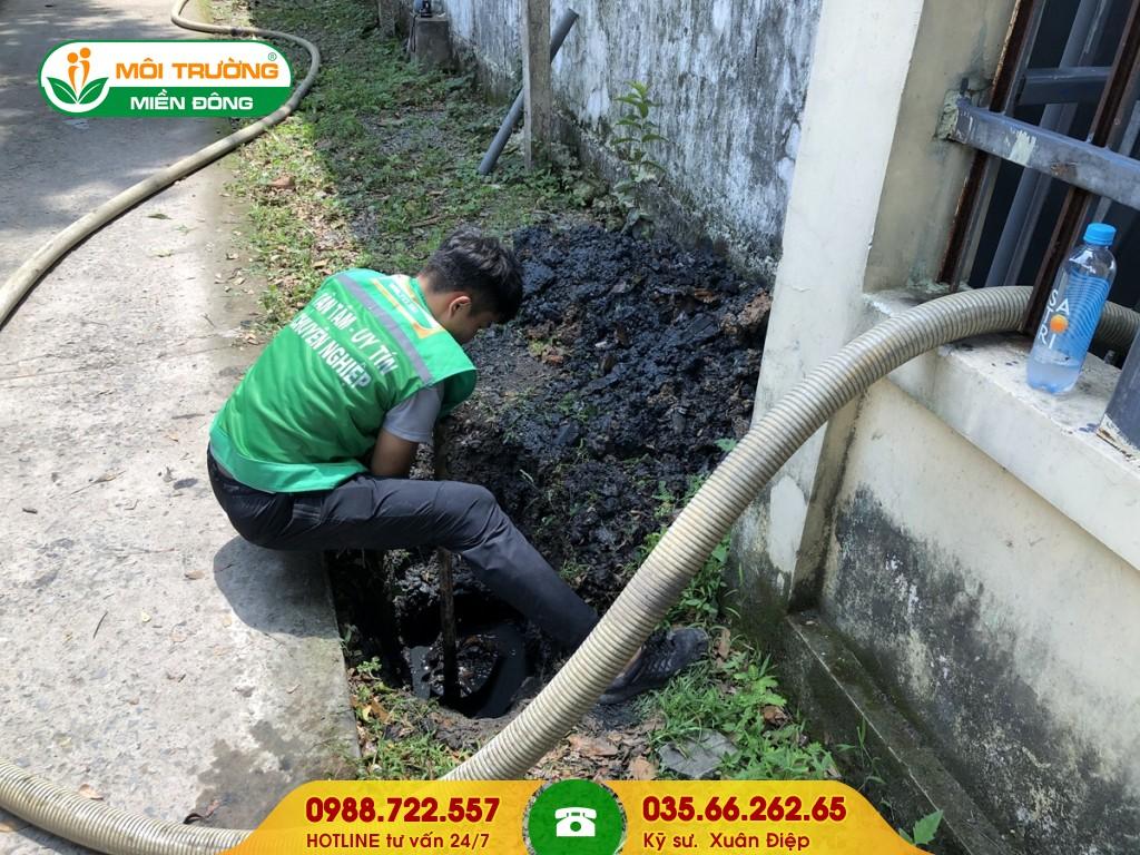 Dịch vụ vệ sinh hố ga